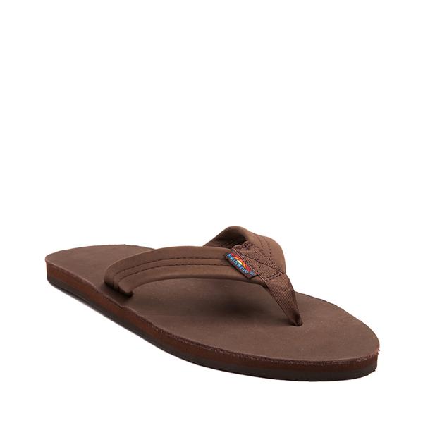 alternate view Mens Rainbow 301 Leather Sandal - ExpressoALT5