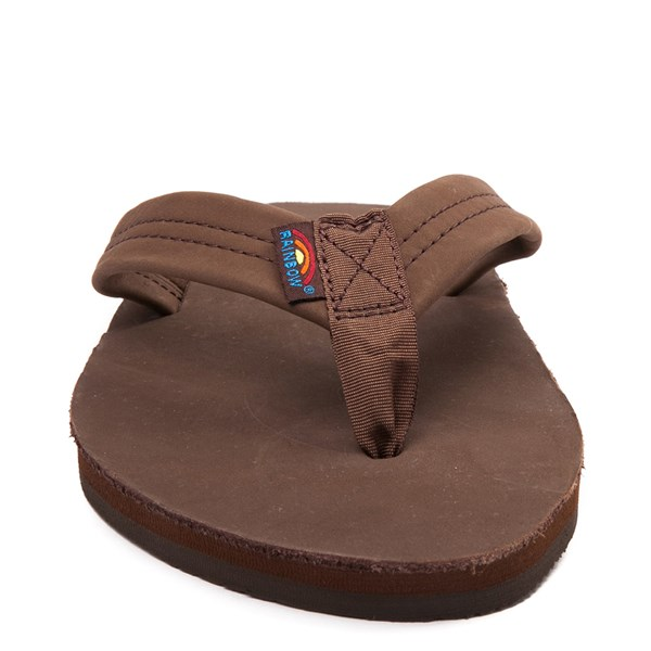 alternate view Mens Rainbow 301 Leather Sandal - ExpressoALT4