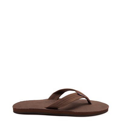 Main view of Mens Rainbow 301 Leather Sandal - Expresso