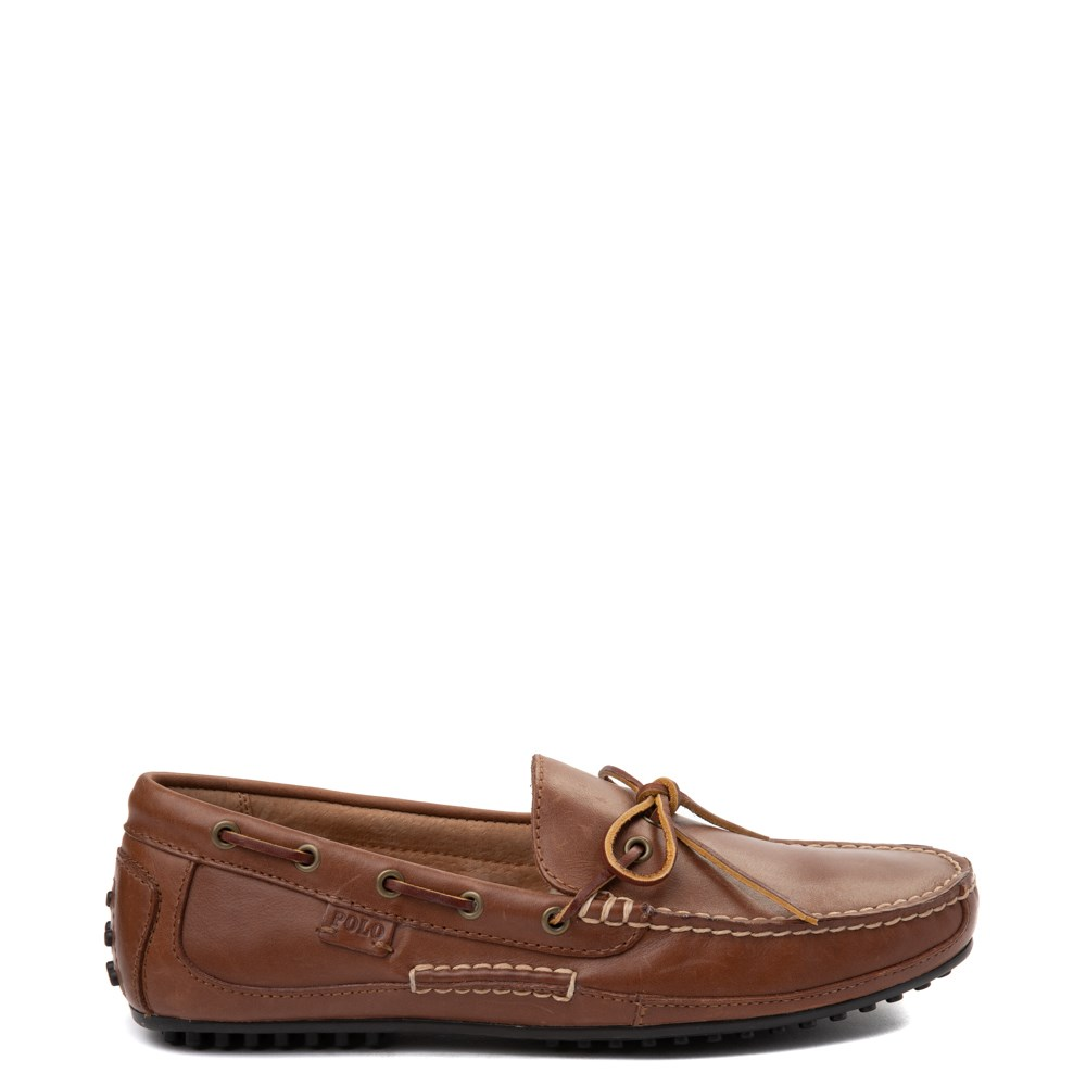 Brown Leather Casual Shoes Mens