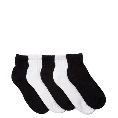 Alternate view of Quarter Top 5pk Socks - Little Kid