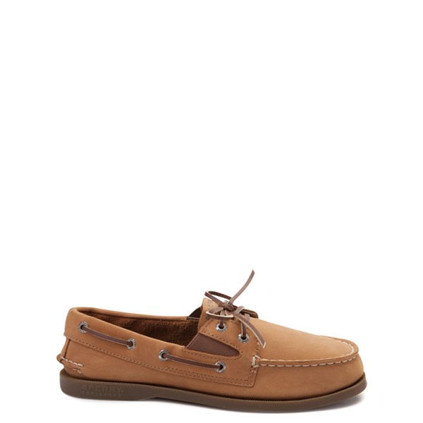 Main view of Sperry Top-Sider Authentic Original Gore Boat Shoe - Little Kid / Big Kid - Sahara / Tan