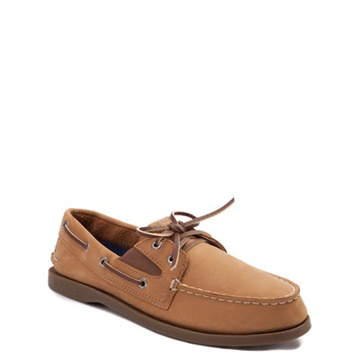 Alternate view of Sperry Top-Sider Authentic Original Gore Boat Shoe - Little Kid / Big Kid - Sahara / Tan