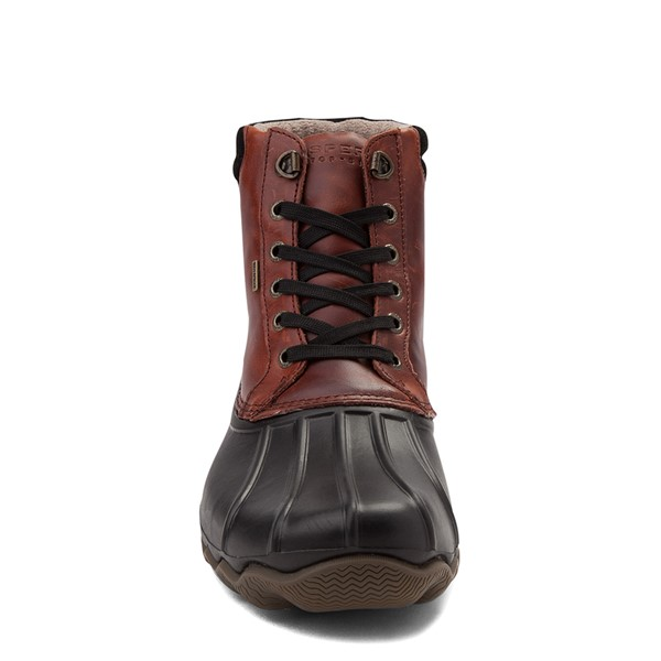 alternate view Mens Sperry Top-Sider Duck Boot - Black / BurgundyALT4