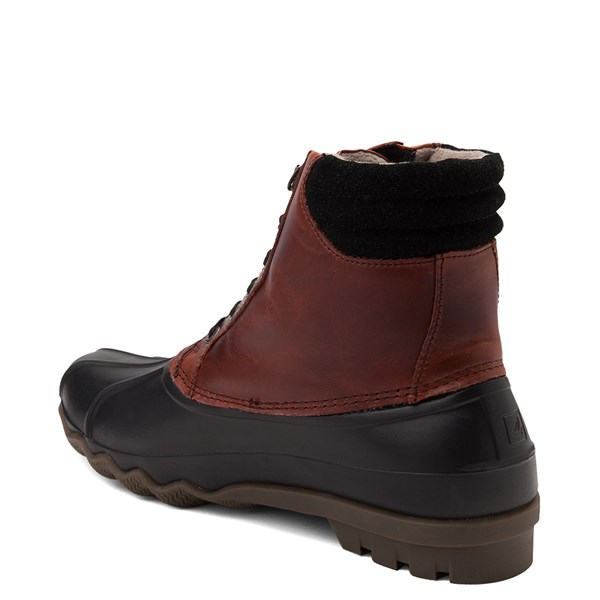 alternate view Mens Sperry Top-Sider Duck Boot - Black / BurgundyALT2