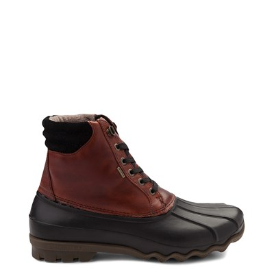 Main view of Mens Sperry Top-Sider Duck Boot - Black / Burgundy