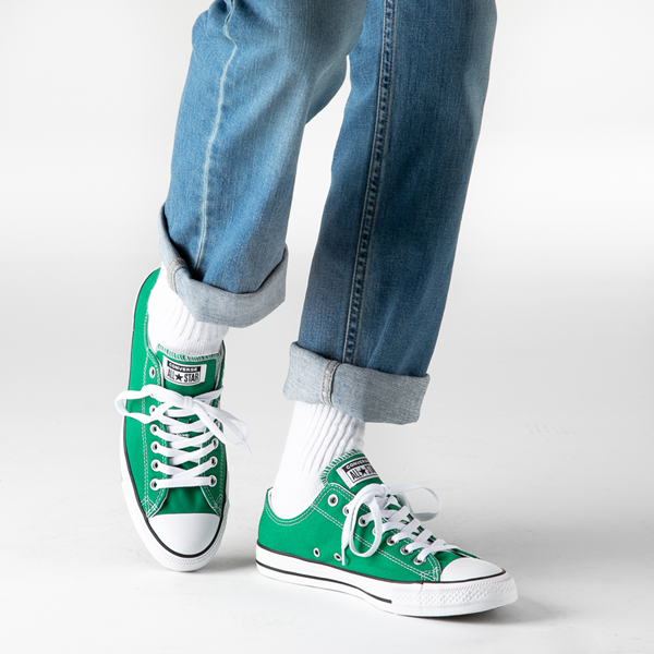 alternate view Converse Chuck Taylor All Star Lo Sneaker - Amazon GreenB-LIFESTYLE1