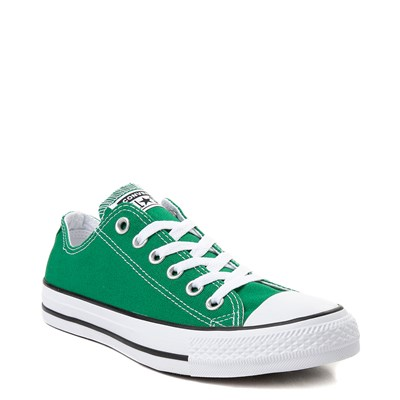 Alternate view of Green Converse Chuck Taylor All Star Lo Sneaker