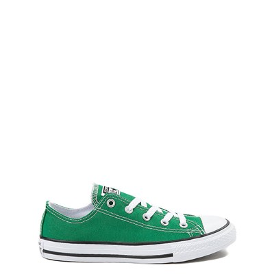 Main view of Green Youth Converse Chuck Taylor All Star Lo Sneaker