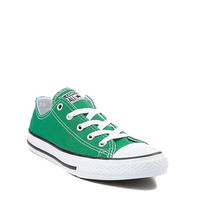 Alternate view of Green Youth Converse Chuck Taylor All Star Lo Sneaker
