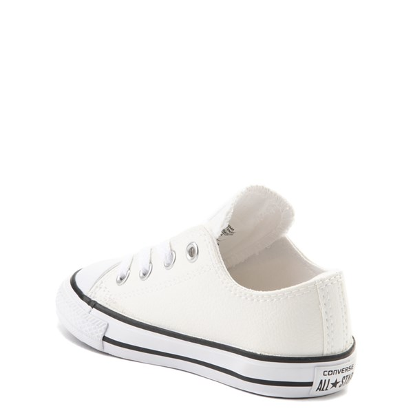 alternate view Converse Chuck Taylor All Star Lo Leather Sneaker - Baby / ToddlerALT2