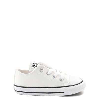 Main view of Converse Chuck Taylor All Star Lo Leather Sneaker - Baby / Toddler - White