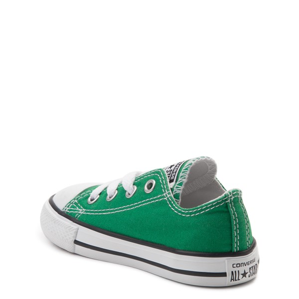 alternate view Converse Chuck Taylor All Star Lo Sneaker - Baby / Toddler - Amazon GreenALT1