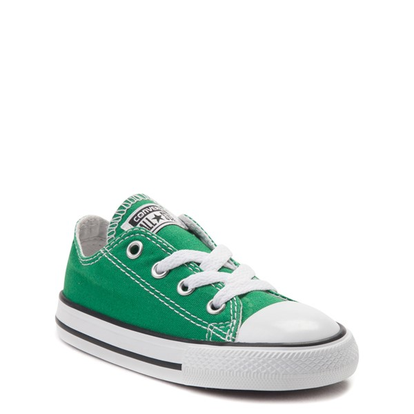 alternate view Converse Chuck Taylor All Star Lo Sneaker - Baby / Toddler - Amazon GreenALT5
