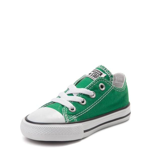 alternate view Converse Chuck Taylor All Star Lo Sneaker - Baby / Toddler - Amazon GreenALT3