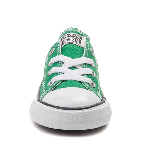 alternate view Converse Chuck Taylor All Star Lo Sneaker - Baby / Toddler - Amazon GreenALT4