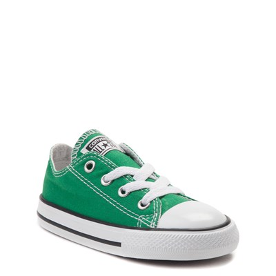 Alternate view of Converse Chuck Taylor All Star Lo Sneaker - Baby / Toddler - Amazon Green
