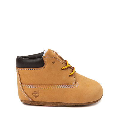 Alternate view of Timberland Boot and Hat Set - Baby - Wheat