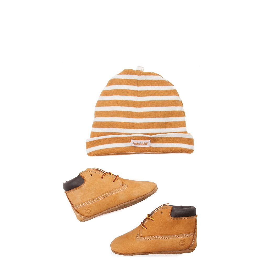 Timberland Boot and Hat Set - Baby - Wheat
