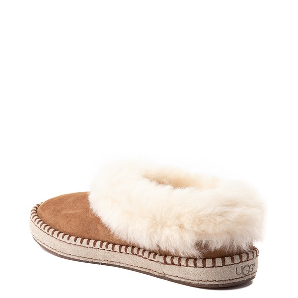 alternate view Womens UGG® Wrin Slipper - ChestnutALT2