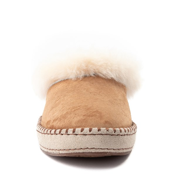 alternate view Womens UGG® Wrin Slipper - ChestnutALT4