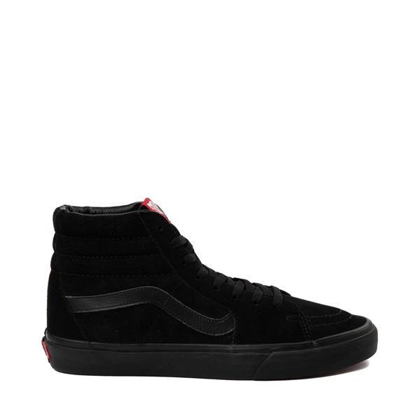 Vans Sk8 Hi Skate Shoe - Black Monochrome