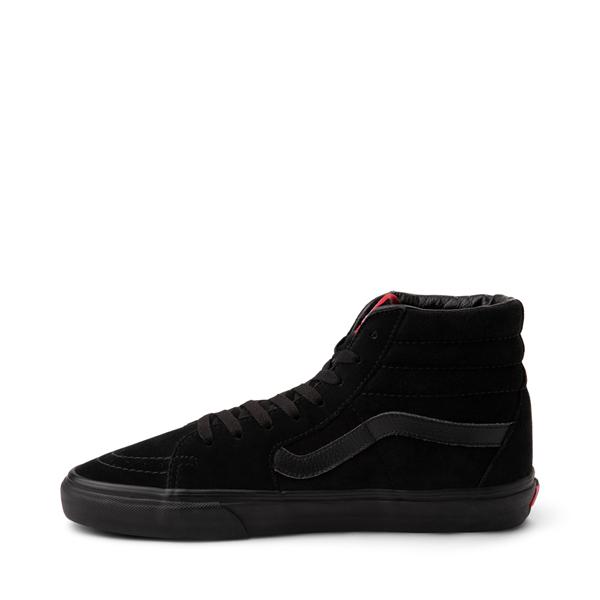 alternate view Vans Sk8 Hi Skate Shoe - Black MonochromeALT1