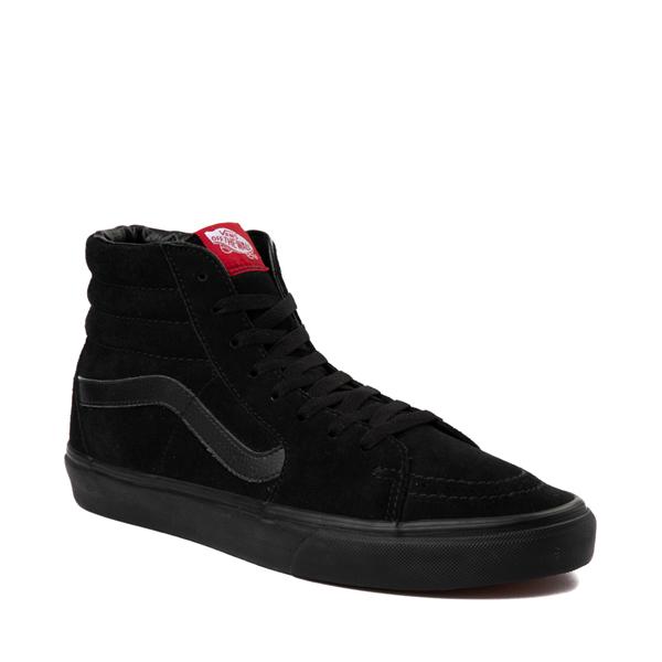 alternate view Vans Sk8 Hi Skate Shoe - Black MonochromeALT5