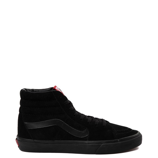 Default view of Vans Sk8 Hi Skate Shoe - Black Monochrome