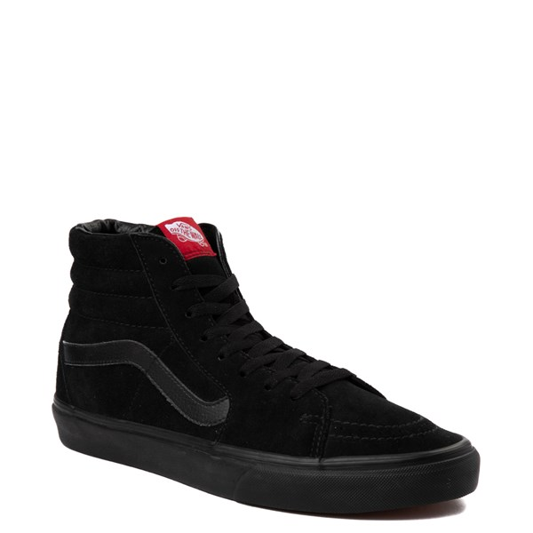 alternate view Vans Sk8 Hi Skate Shoe - Black MonochromeALT1