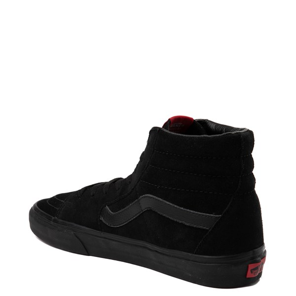 alternate view Vans Sk8 Hi Skate Shoe - Black MonochromeALT2