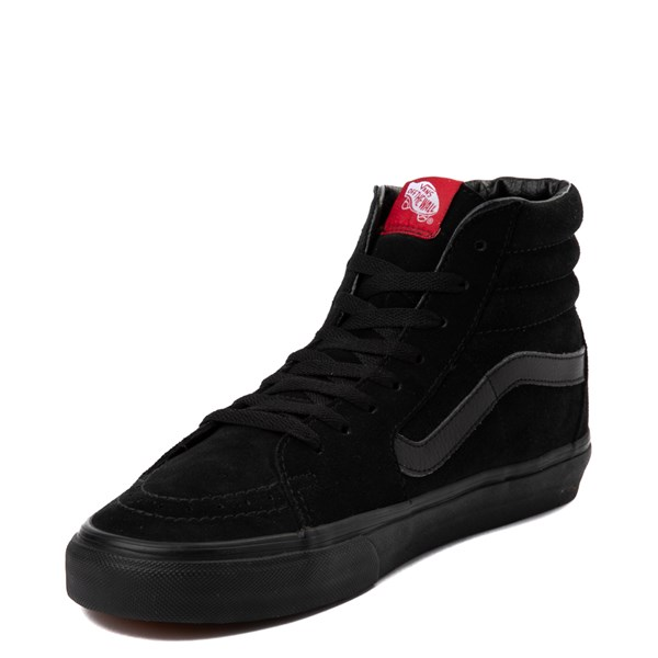 alternate view Vans Sk8 Hi Skate Shoe - Black MonochromeALT3