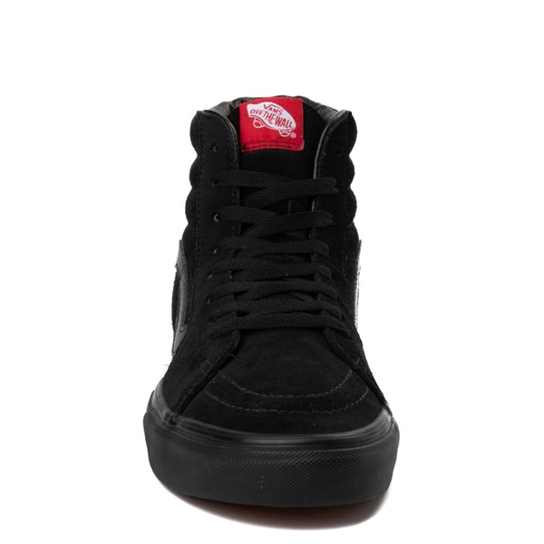 alternate view Vans Sk8 Hi Skate Shoe - Black MonochromeALT4
