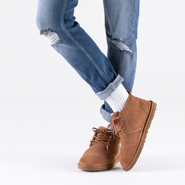 alternate view Mens UGG® Neumel Casual Shoe - ChestnutB-LIFESTYLE1