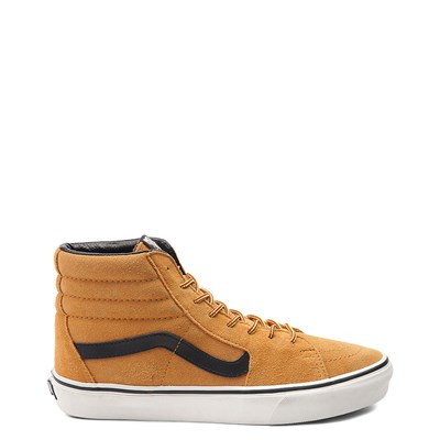 Main view of Wheat Vans Sk8 Hi Skate Shoe