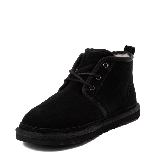 alternate view Mens UGG® Neumel Casual Shoe - BlackALT3