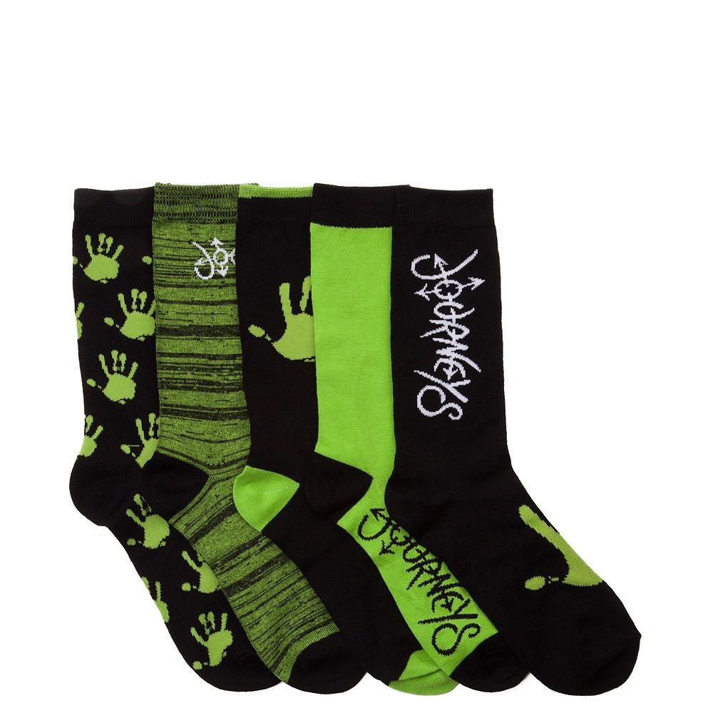 Journeys Logo Crew Socks 5 Pack