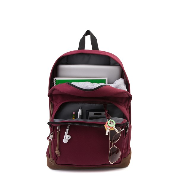 alternate view JanSport Right Pack Backpack - Russet RedALT1