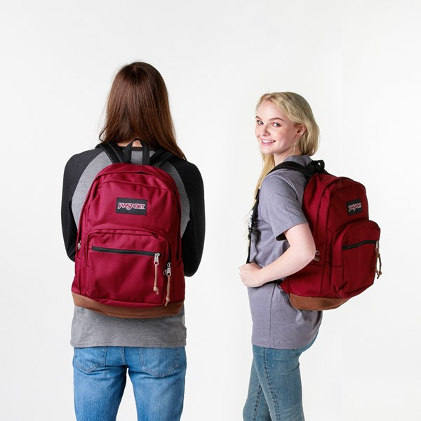 alternate view JanSport Right Pack Backpack - Russet RedALT1BADULT