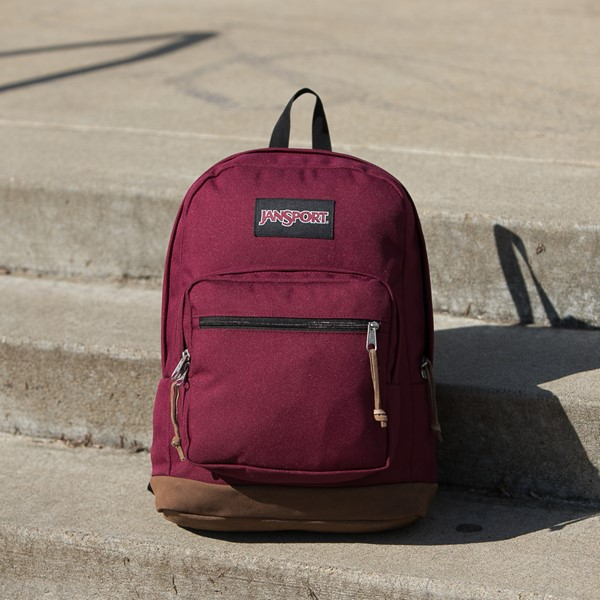 alternate view JanSport Right Pack Backpack - Russet RedALT1BB
