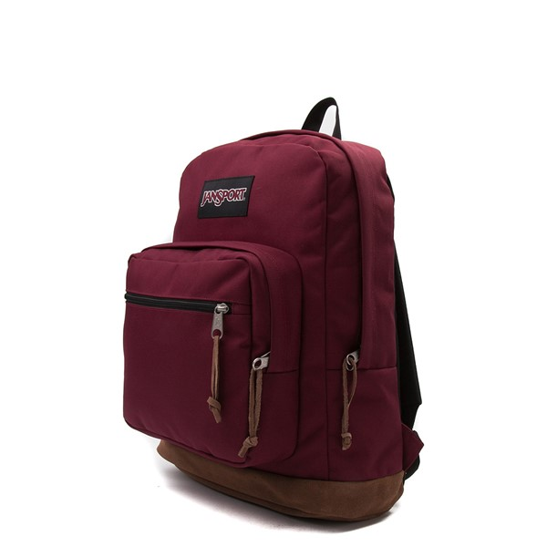 alternate view JanSport Right Pack Backpack - Russet RedALT4