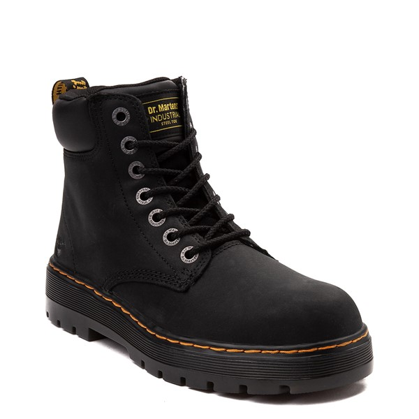 alternate view Mens Dr. Martens Winch OSHA Steel Toe Boot - BlackALT1