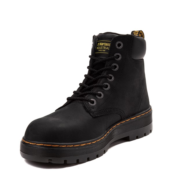 alternate view Mens Dr. Martens Winch OSHA Steel Toe Boot - BlackALT3