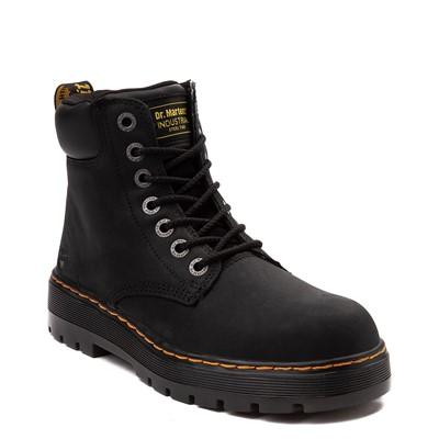 Alternate view of Mens Dr. Martens Winch OSHA Steel Toe Boot - Black