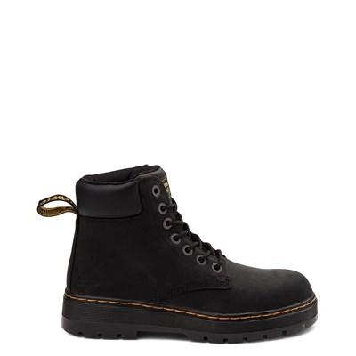 Main view of Mens Dr. Martens Winch OSHA Steel Toe Boot - Black