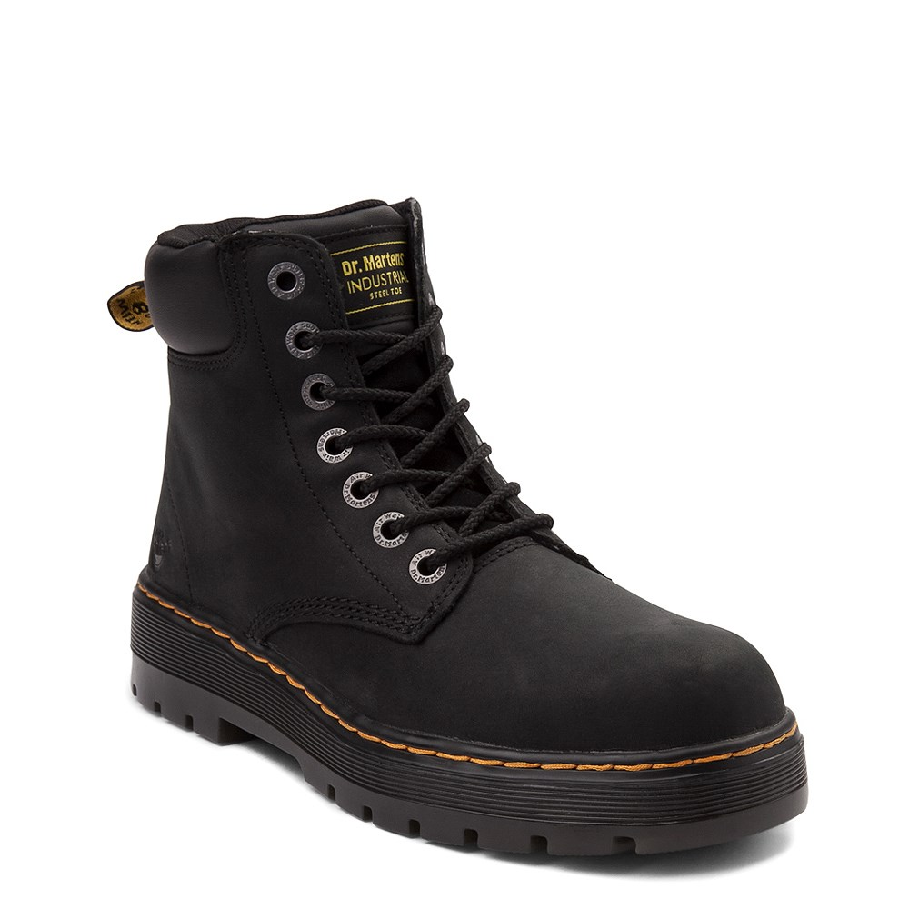 tanie trampki nowe przyloty odebrać Mens Dr. Martens Winch OSHA Steel Toe Boot - Black