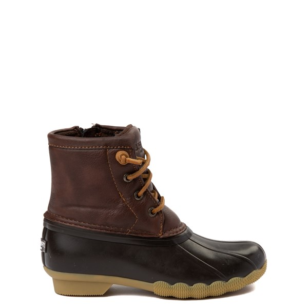 Main view of Sperry Top-Sider Saltwater Boot - Little Kid / Big Kid - Brown