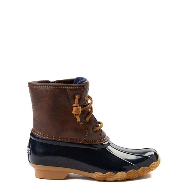 Main view of Sperry Top-Sider Saltwater Boot - Little Kid / Big Kid - Navy
