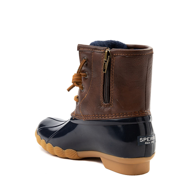 Alternate view of Sperry Top-Sider Saltwater Boot - Little Kid / Big Kid - Navy
