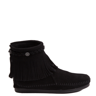 Main view of Womens Minnetonka Back Zip Boot